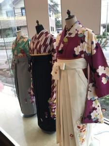 卒業袴展示会1