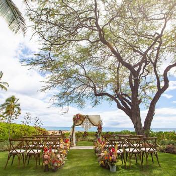 Lanikuhonua garden wedding